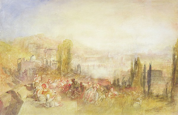 Florence Painting - Florence by Joseph Mallord William Turner