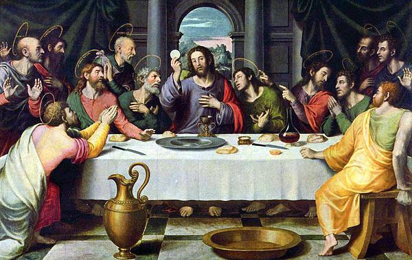 Jesus Photograph - Food For Soul by Munir Alawi