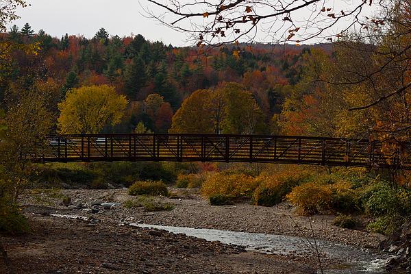 Foot Bridge Photograph by Robert  Torkomian