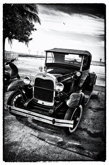 Ford Photograph - Ford Model T Film Noir by Bill Cannon