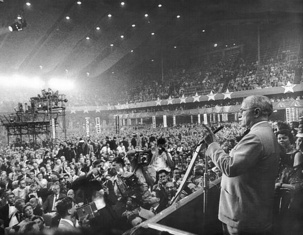 History Photograph - Former President Harry Truman by Everett
