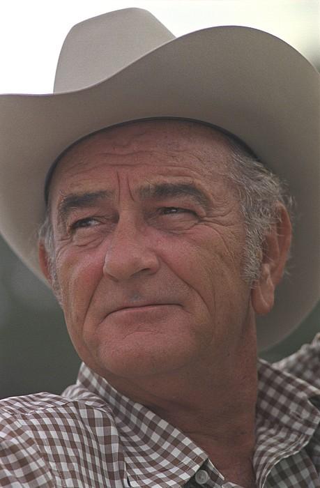 History Photograph - Former President Lyndon Johnson. Lbj by Everett