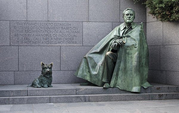 Franklin Delano Roosevelt Photograph - Franklin Delano Roosevelt Memorial - Washington Dc by Brendan Reals