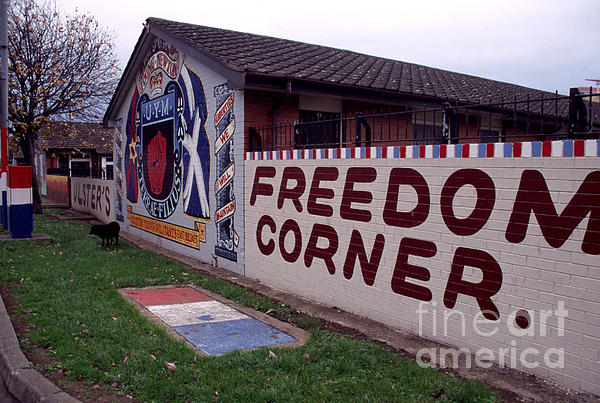 Freedom Corner Photograph - Freedom Corner Mural by Thomas R Fletcher