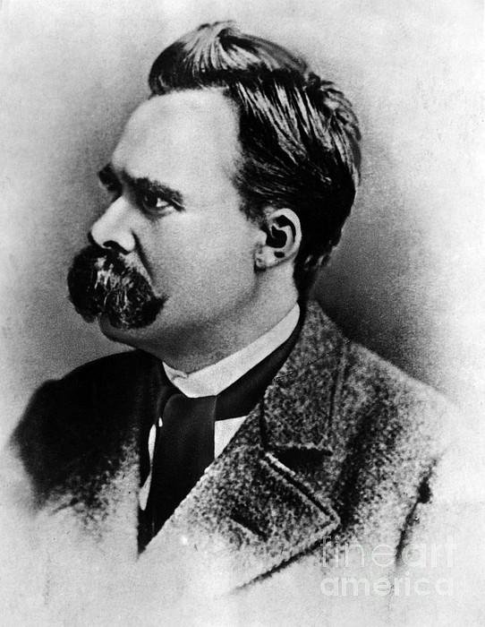History Photograph - Friedrich Wilhelm Nietzsche, German by Omikron