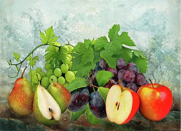 Fruit Photograph - Fruit Garden by Manfred Lutzius