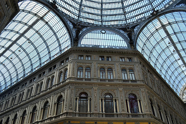 Naples Photograph - Galleria Umberto 1 by Terence Davis