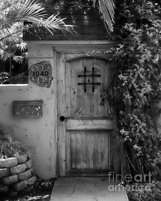 Door Photograph - Garden Doorway 2 by Perry Webster