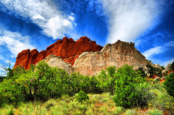 Garden Of The Gods Photograph - Garden Of The Gods 1 by Emily Stauring