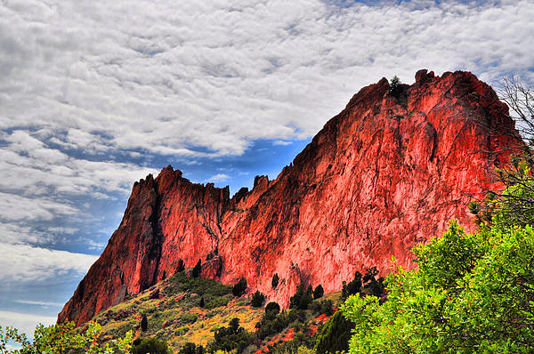 Garden Of The Gods Photograph - Garden Of The Gods 10  by Emily Stauring