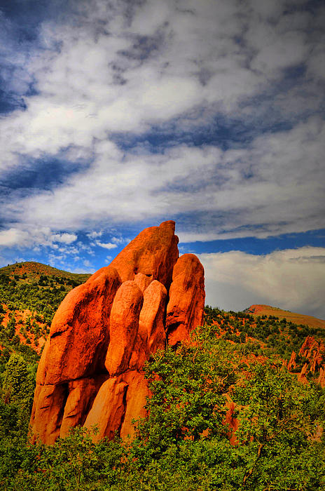 Garden Of The Gods Photograph - Garden Of The Gods 8 by Emily Stauring