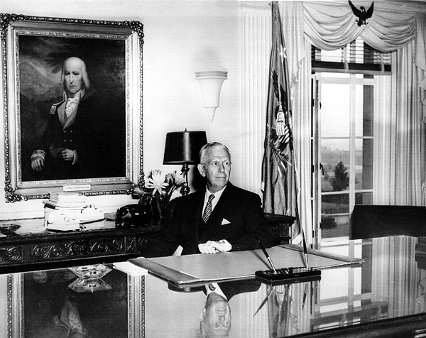 1950s Photograph - General George C. Marshall As Secretary by Everett
