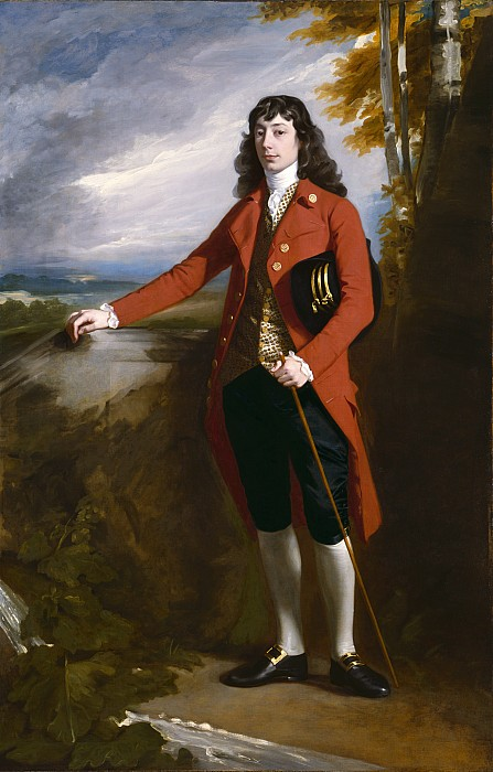 George Painting - George Boone Roupell by John Singleton Copley