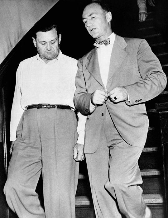 History Photograph - George Bugs Moran, 50, And M.w by Everett