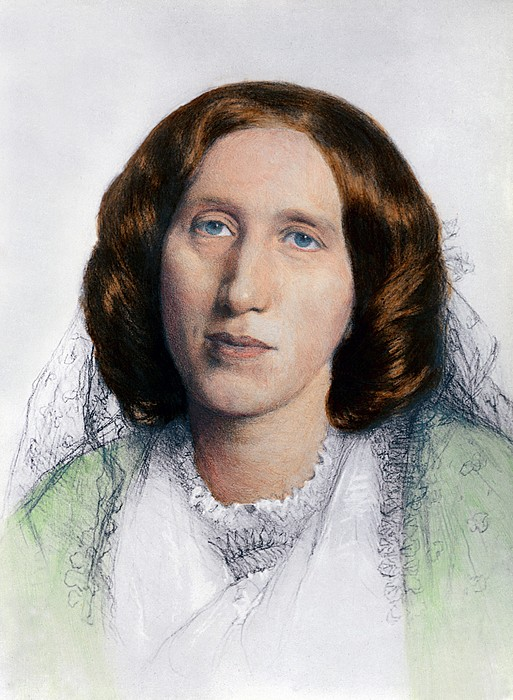 History Photograph - George Eliot 1819-1880 Was Born Mary by Everett