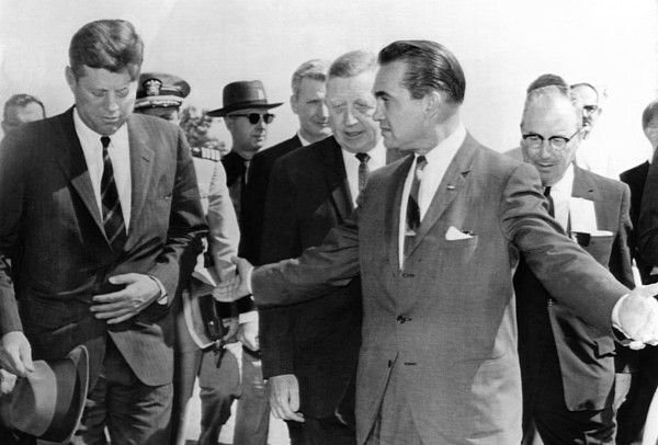 History Photograph - George Wallace Stepping Aside by Everett