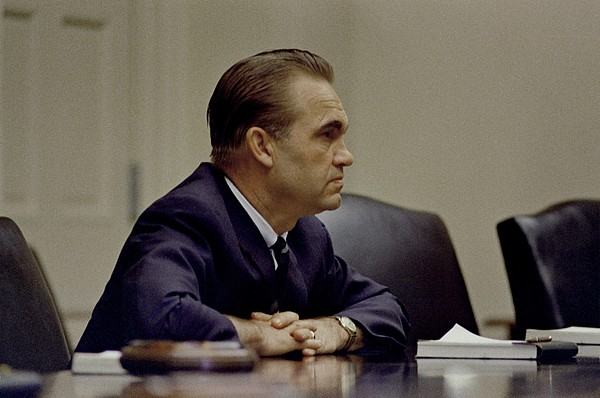 History Photograph - George Wallace, The Segregationist by Everett