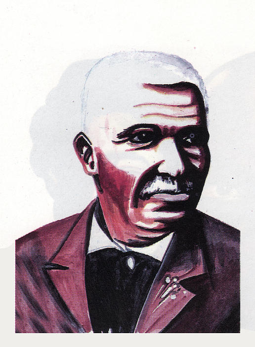 George Washington Carver Painting - Georges Washington Carver by Emmanuel Baliyanga