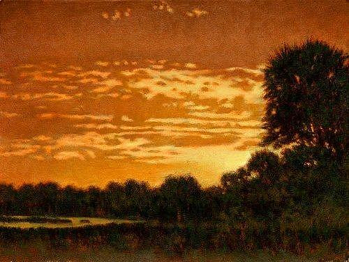 Sc Painting - Giclee Golden Isle by Michael Story