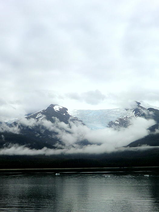 Mountains Photograph - Glacier Mountain by Mindy Newman