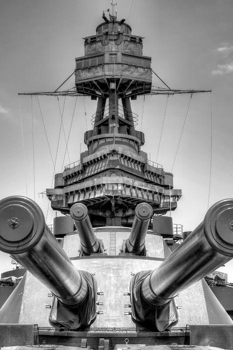 Battleship Photograph - Go Ahead Punk   Make My Day by JC Findley