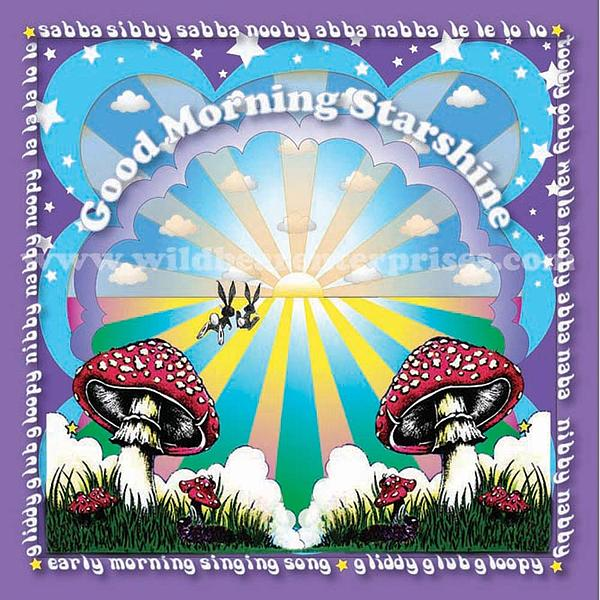 Song Digital Art - Good Morning Starshine by Annie Wildbear