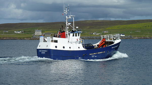 Boat Photograph - Good Shepherd Iv by George Leask