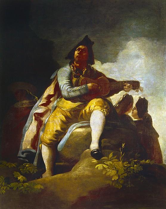 1786 Photograph - Goya: Guitarist by Granger
