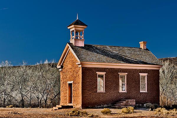 Grafton Photograph - Grafton Schoolhouse by Christopher Holmes