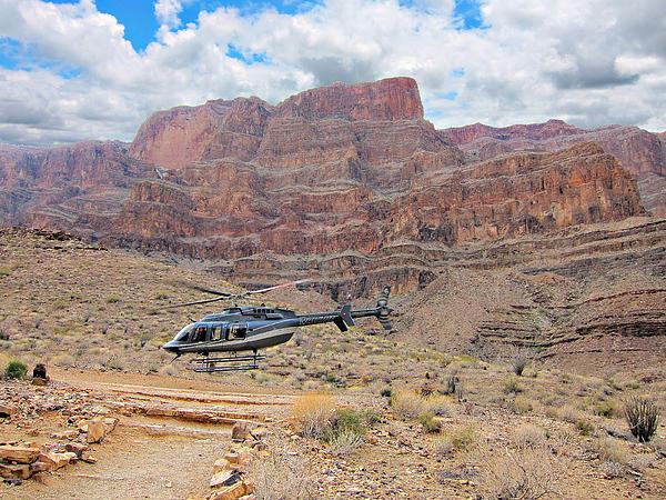 Grand Canyon Helicopter Flight Photograph By Douglas Barnard