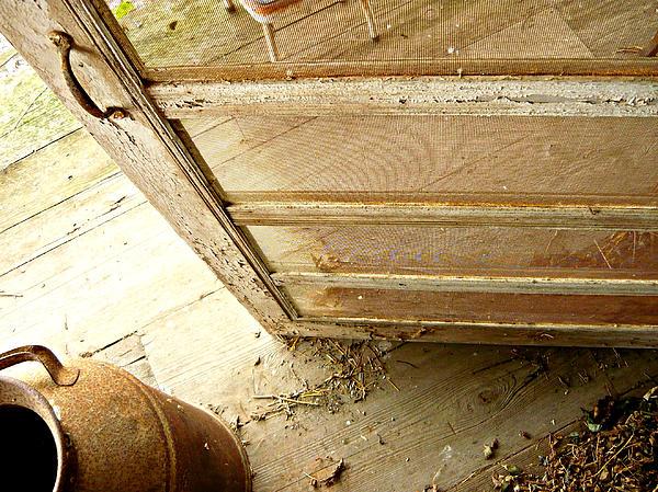 Screen Doors Photograph - Grandmas Porch by Katherine Adams