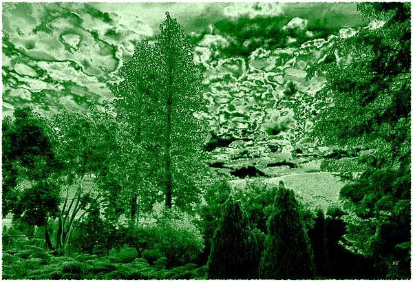 Green Zone Digital Art - Green Zone by Will Borden