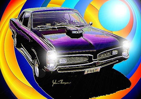 Drag Racing Digital Art - GTO by John Thompson
