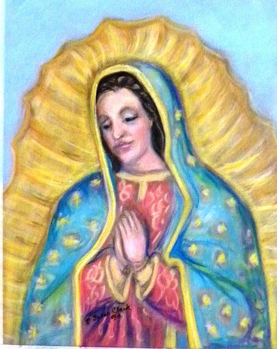 Our Lady Of Guadalupe Painting - Guadalupe by Susan  Clark