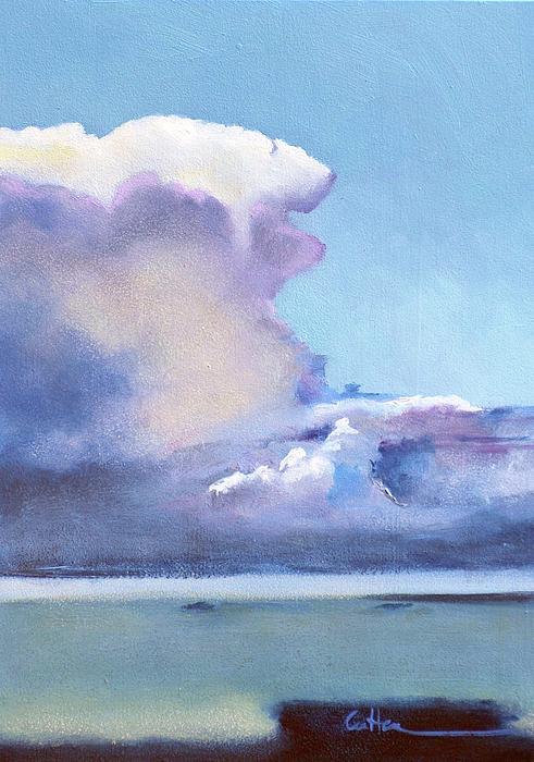 Puerto Rico Painting - Hacia Culebra by Diane Cutter