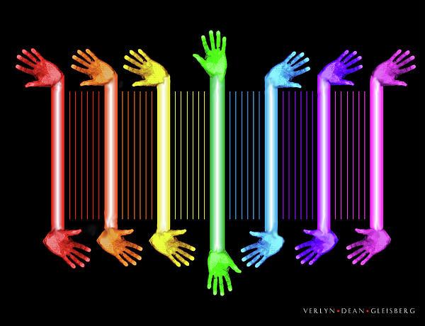 Hands Digital Art - Hands Of The Artist by Dean Gleisberg