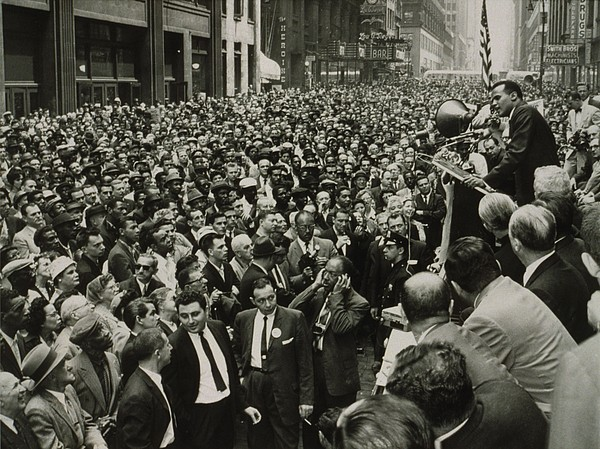 History Photograph - Harry Belafonte B. 1927 Speaking At An by Everett