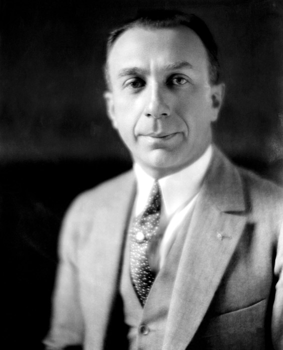 Harry Warner, 1881-1958, Co-founder Photograph by Everett