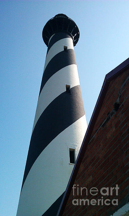 Hatteras Photograph - Hatteras Light by Tony Cooper