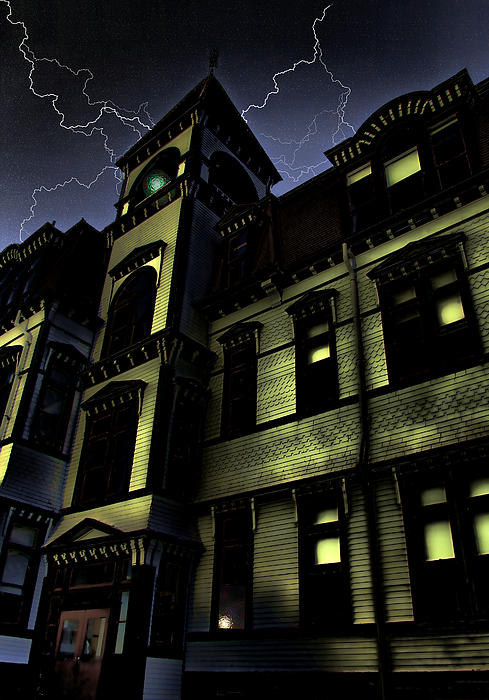 Haunted House Photograph - Haunted House by Mark Sellers