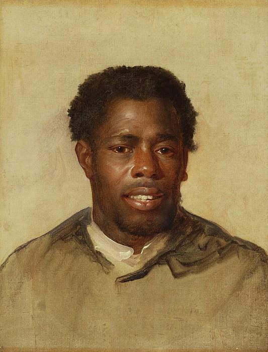 Head Painting - Head Of A Man by John Singleton Copley