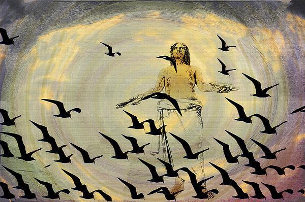 Jesus Photograph - Heaven Sent by Bill Cannon