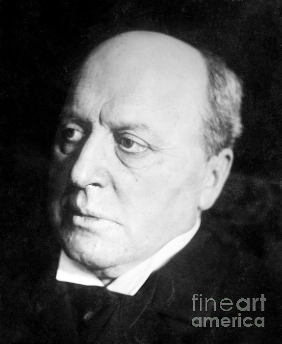 History Photograph - Henry James, American-born British by Photo Researchers