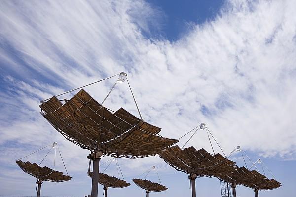 Outdoors Photograph - Hermansburg Solar Energy Receiver Array by Stephen Alvarez