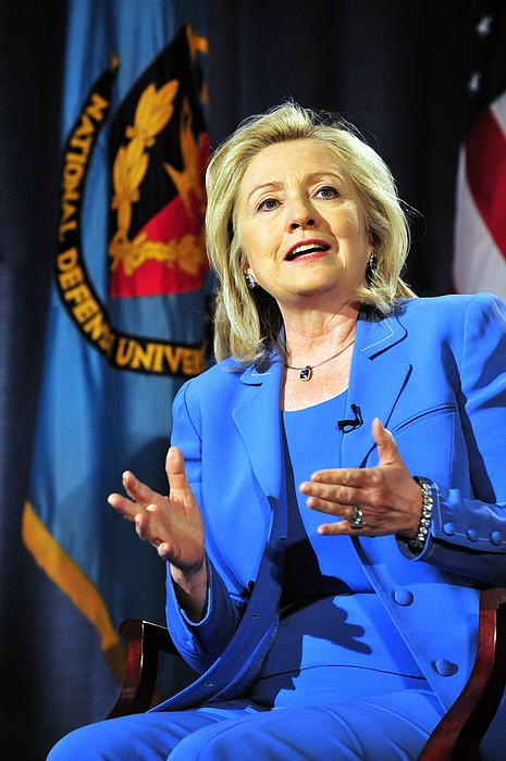 History Photograph - Hillary Clinton, Us Secretary Of State by Everett