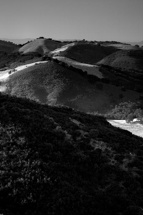California Photograph - Hills Of Light And Darkness by Steven Ainsworth