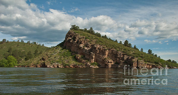 Horsetooth Reservoir Photograph - Horsetooth Reservoir View Toward Inlet Bay by Harry Strharsky