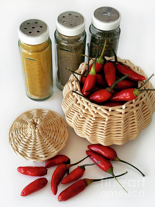 Bunch Photograph - Hot Spice by Carlos Caetano