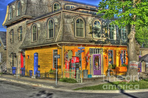 Hdr Photograph - Ice Cream Shop by David  Hubbs