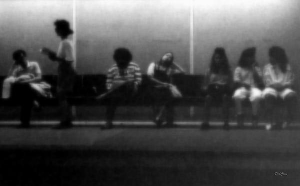 People Photograph - Images Of Waiting by Deborah  Crew-Johnson